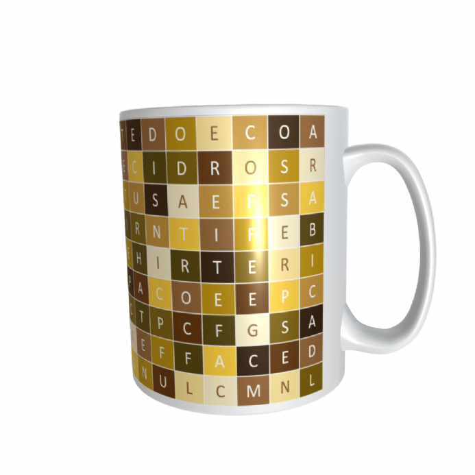 Coffee Wordsearch Mug